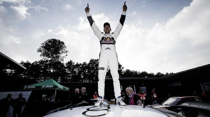Kevin Eriksson vence na Alemanha e Mattias Ekström se torna campeão mundial de rallycross