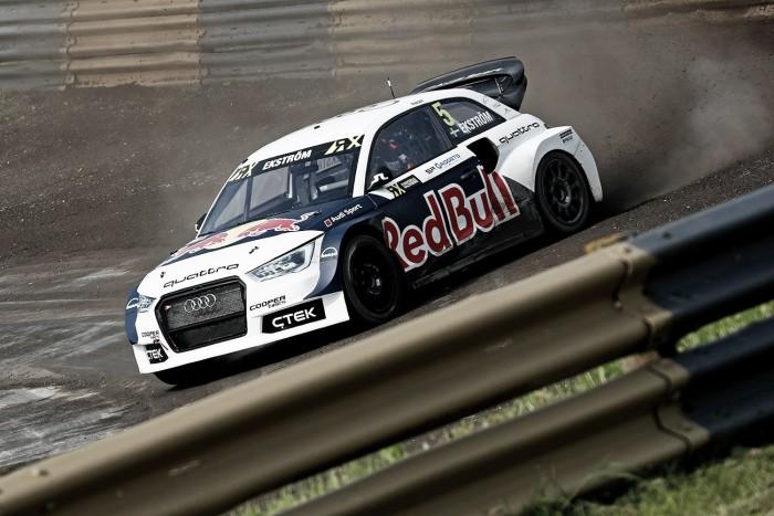 Ekström continua líder do Mundial de Rallycross após vitória em Lydden Hill
