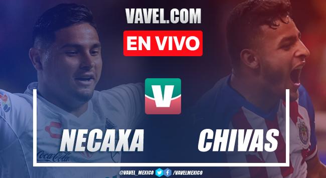 Resumen y goles: Necaxa 0-2 Chivas en Amistoso 2020