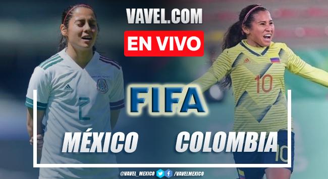 Goles y resumen del México Femenil 2-0 Colombia Femenil en Partido Amistoso 2021