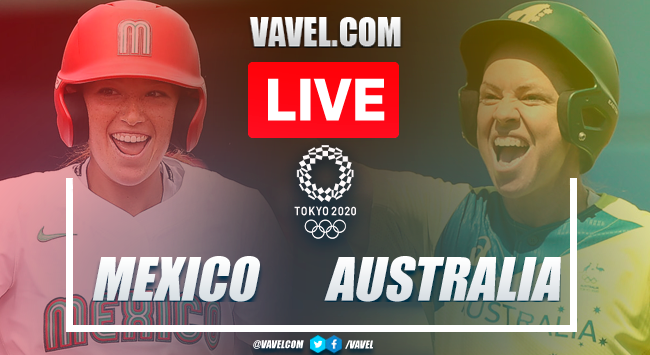 Runs and highlights: Mexico 4-1 Australia in Softball Tokyo 2020 Olympic Games