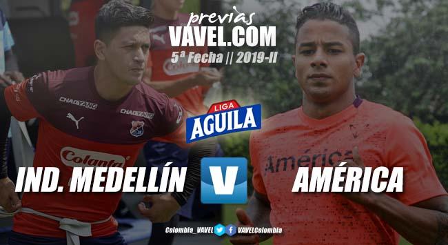 Previa Independiente Medellín vs América de Cali: nuevo clásico de rojos