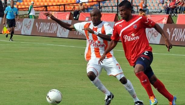 Resultado Envigado - Medellín en la Liga Postobón 2013-II (0-4)