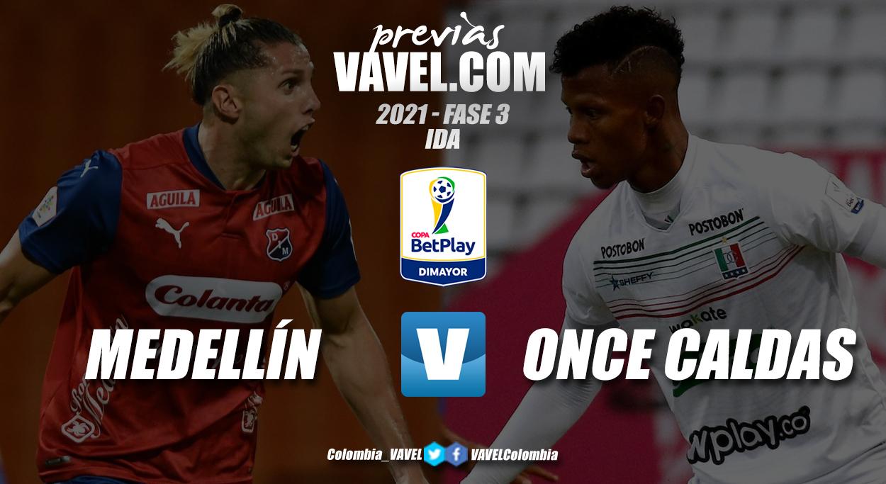 Previa Independiente Medellín vs Once Caldas: inicia la defensa del título