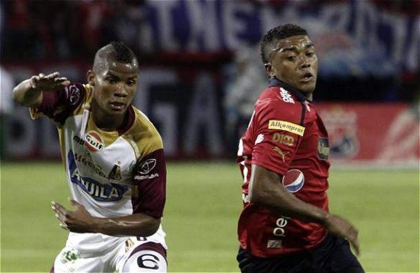 Poderosa victoria del Deportes Tolima ante Medellín