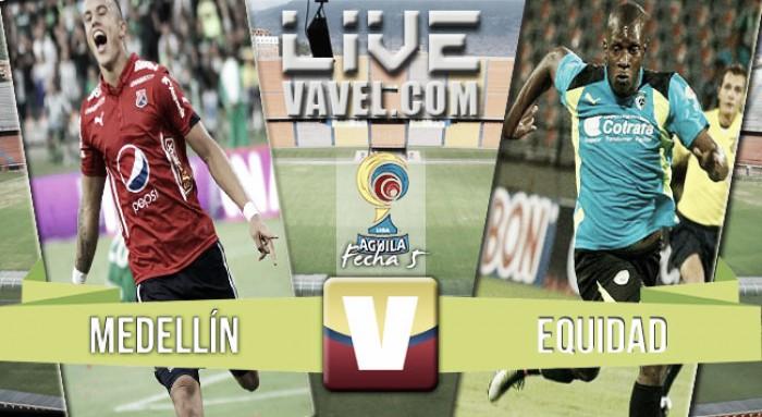 Resultado Medellín vs Equidad en Liga Águila 2016 (1-0)