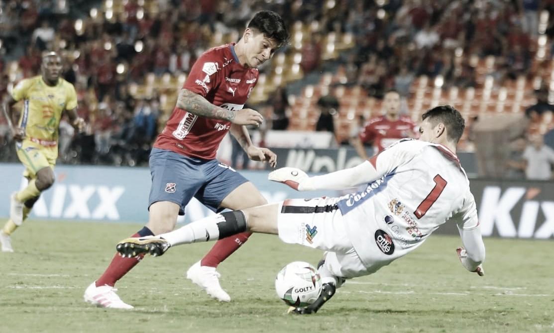 Independiente Medellín cumplió en casa ante Atlético Huila