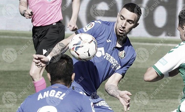 """Darío Poveda: """"No pensaba en otra cosa, solo quería salir, meter gol y ganar el partido"""""""
