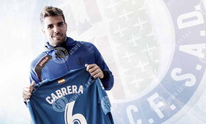 "Cabrera: ""Bordalás está contento de que esté aquí"""