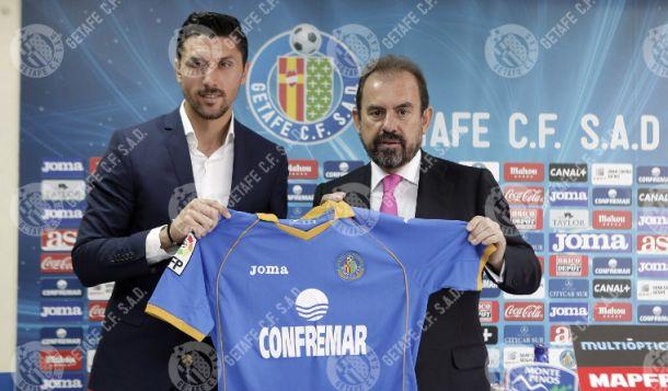 """Ángel Torres: """"El 2014 es un buen año para el Getafe"""""""