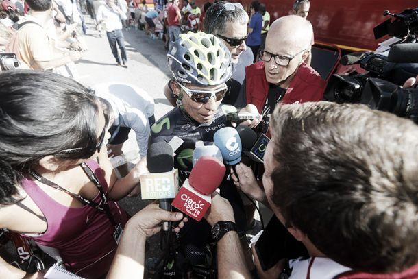 """Nairo Quintana: """"La zona de viento fue muy difícil de pasar"""""""