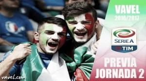 Previa 2ª jornada de Serie A: el fútbol como humilde medicina
