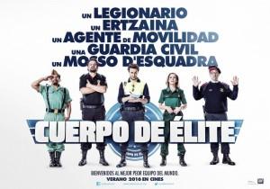 'Cuerpo de élite' encabeza la taquilla en su primer fin de semana