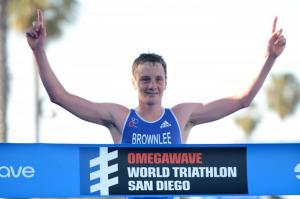 Un intratable Alistair Brownlee se impone en la WTS de San Diego