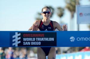 Gwen Jorgensen se lleva la victoria en San Diego