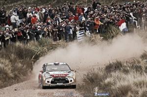 Loeb toma el liderato en la locura de Argentina
