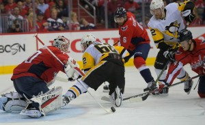 Capitals score four unanswered in the third, can wrap up the series in Pittsburgh