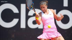 WTA Rio, Sara Errani in finale