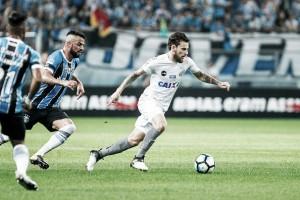 """Lucas Lima admite dificuldade, mas valoriza empate fora: """"Pode ser importante lá na frente"""""""
