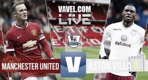 Resultado Manchester United vs Aston Villa en la Premier League 2015 (3-1)
