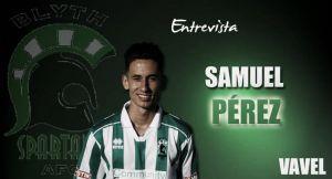 """Entrevista. Samuel Pérez: """"Me estoy adaptando cada vez mejor"""""""