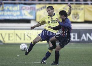 'Torpedo' Vergara, la primera mancha roja del Villarreal CF
