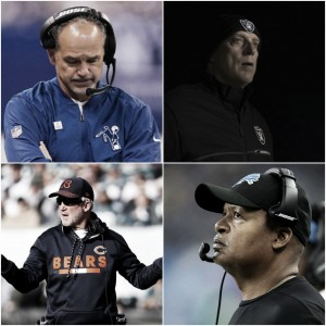 2018 NFL head coaching carousel and front office changes