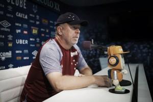 """Mano faz mistério com formação contra Patrocinense, mas afirma: """"Vamos com a melhor equipe"""""""