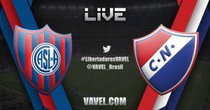 Resultado do jogo San Lorenzo x Nacional ao vivo na Copa Libertadores 2014