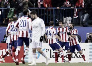 L'Atletico umilia il Real: il derby di Madrid è roji-blanco