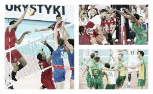 Championnats du Monde de volley-ball 2014 (Groupe A) : la Serbie et l'Argentine passent, la Pologne perd un set