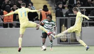 Liga Europa: Três golos do leão no gelo de Astana