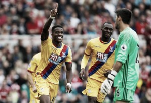 Middlesbrough 1-2 Crystal Palace: Zaha winner gives Palace first league win