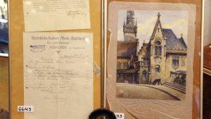 Vendida en Alemania la pintura más cara de Hitler