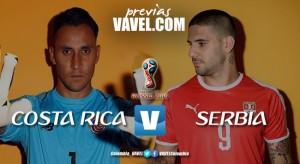 Previa Costa Rica – Serbia: un duelo a pura vida