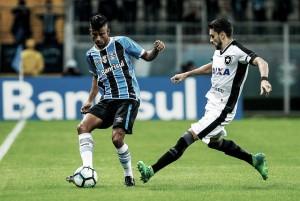 Priorizando Copa do Brasil, Botafogo e Grêmio se enfrentam com reservas no Rio de Janeiro