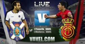 CD Tenerife - RCD Mallorca en directo online