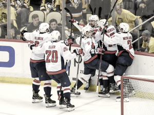 FINALLY: Washington Capitals eliminate the Pittsburgh Penguins in six games