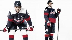 Capitals revelan los uniformes que usarán para el Stadium Series