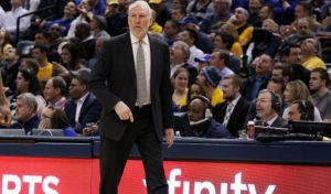 NBA: 1.000 volte Popovich, Pacers battuti nel finale