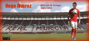 Hugo Álvarez ficha por el Real Murcia