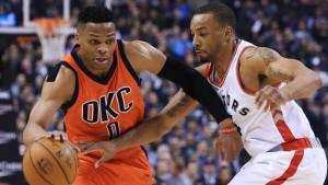 NBA Express' du 29 Mars :un Westbrook record face à Toronto