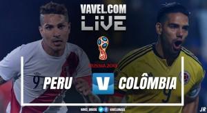 Resultado Peru x Colômbia pelas Eliminatórias da Copa do Mundo (1-1)