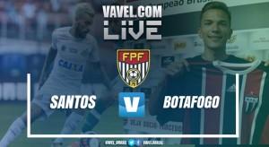 Resultado Santos x Botafogo SP pelo Campeonato Paulista 2017 (2-0)