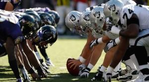 Los Raiders terminan con la imbatibilidad de Ravens