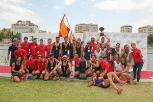 El Real Círculo de Labradores, campeón de España de Remo