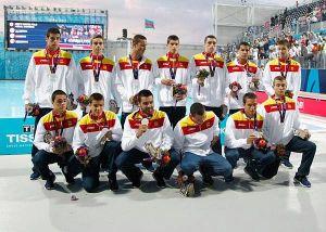 El waterpolo masculino consigue la medalla de plata en la final