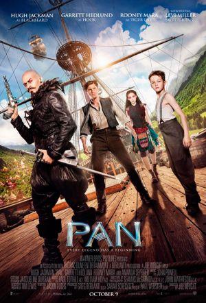 'Pan (Viaje a Nunca Jamás)' ya tiene póster oficial de la película