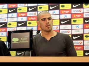 """Victor Valdés """"Je dois tout à Barcelone"""""""