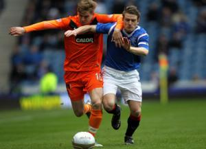 Rangers out from the Scottish Cup